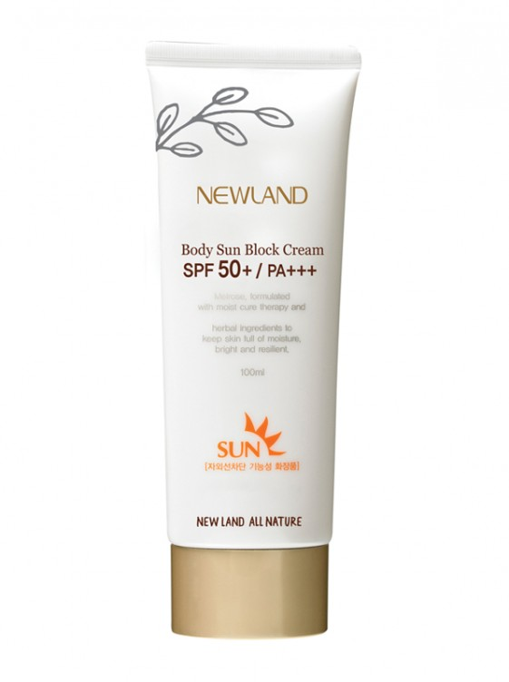 Newland body sun block cream SPF50+ / PA+++