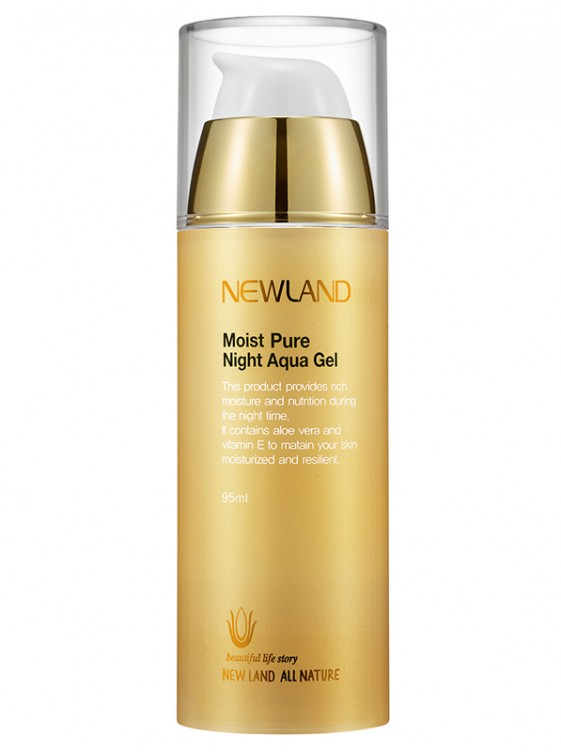 Newland moist pure night aqua gel